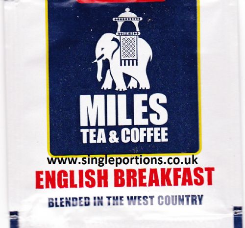 English Breakfast - tea bags - foil sealed - single portion